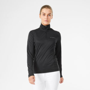 Stierna Halo 1/2 Zip Black