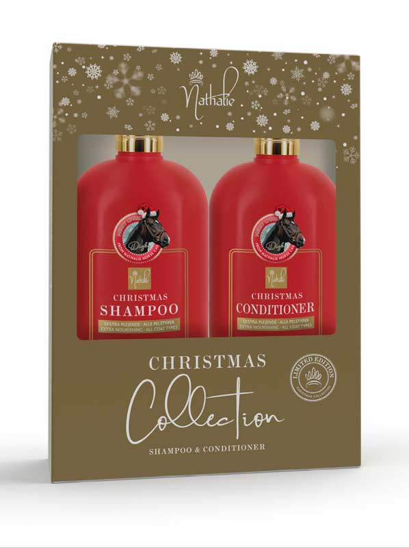 Nathalie Horse Care Christmas Edition Shampoo & Conditioner